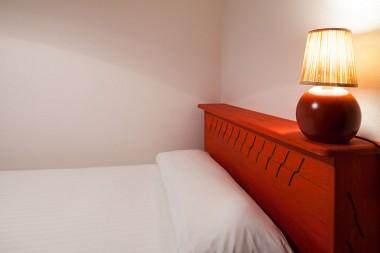 vista cama individual habitacion triple